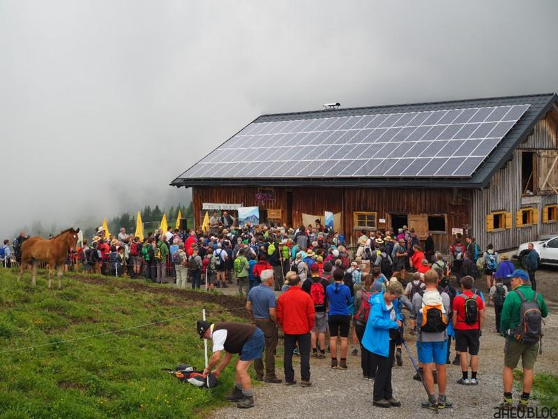 Alpgebäude der Alpe Uga