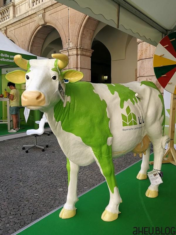 Modell einer Kuh mit Sensoren