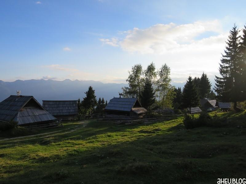 Alpe in Slowenien Uskovnica