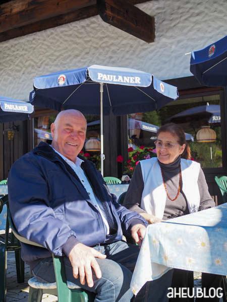 Rudi und Anneliese Vogler, Gasthaus Laiter
